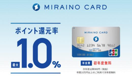 「ハピタスセレクション」で紹介されている『ミライノカード』を最大限オトクに発行する方法