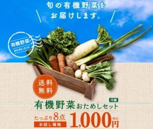 有機野菜おためしセット