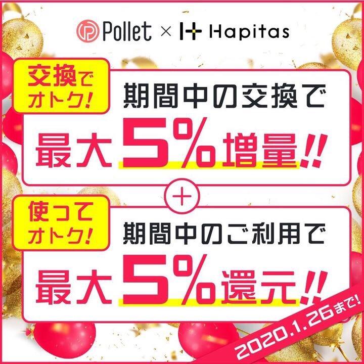 ポレット&ハピタスキャンペーン